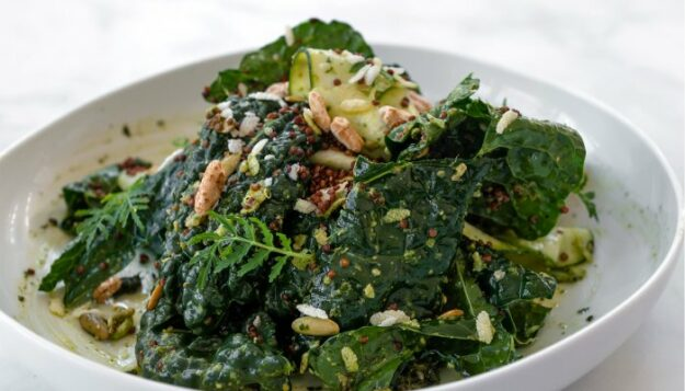 this-vegan-pesto-salad-combines-some-of-our-fave-blood-sugar-balancing-foods
