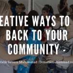 Creative Ways to Give Back to Your Community