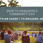 How to Organize a Community Day